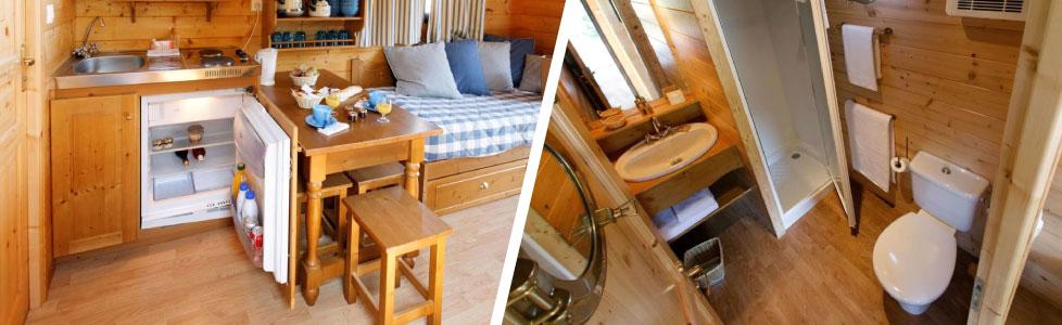 Dormez dans une roulotte Gîte au village des Monédières