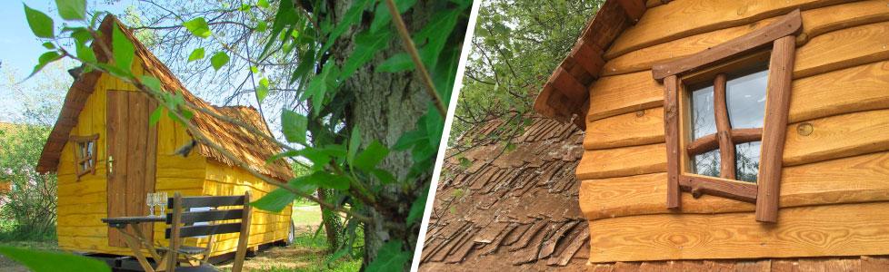 Cabane magique et insolite en Auvergne