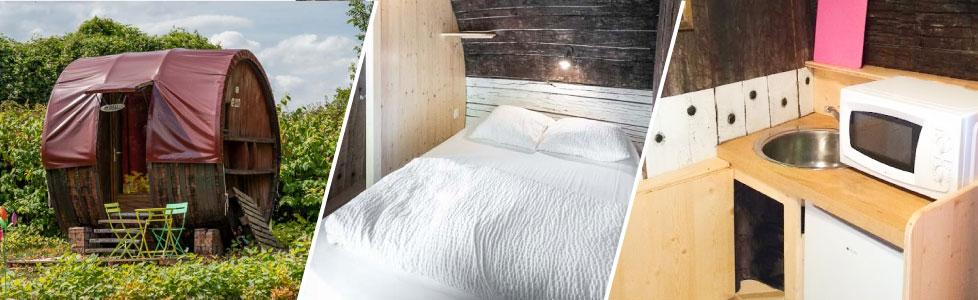 Le Foudre dormez dans un tonneau