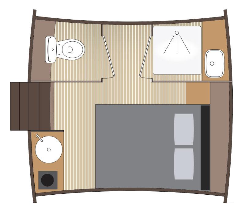 Le Foudre hébergement insolite slowmoov dormez dans un tonneau
