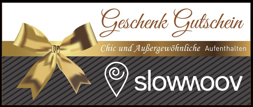 Slowmoov Geschenk Gutschein