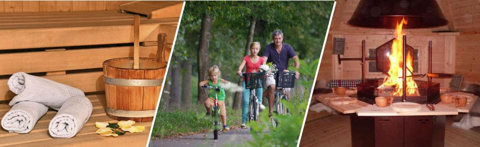 kota grill, location de vélo, Sauna, SPA dans les villages atypiques slowmoov