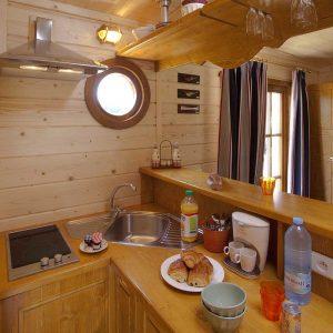 Cabane de Sam cuisine