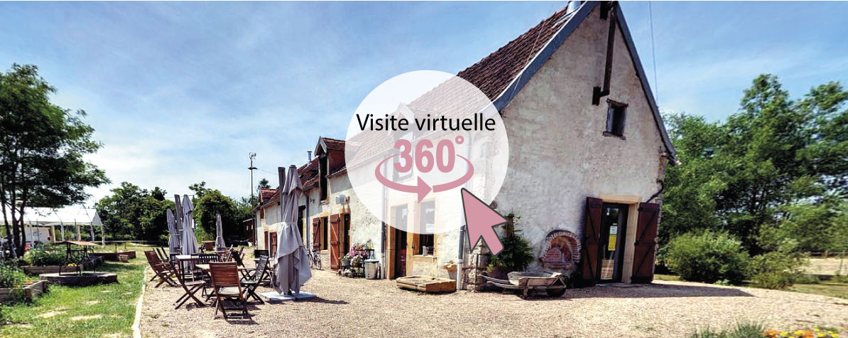 De l'insolite au village Toue des Demoiselles Chassenard vue 360