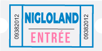 Commander vos places Nigloland